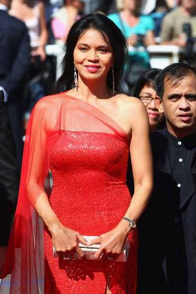 maria isabel at cannes, was with me one whole day at cinemalaya.