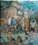 "the ""bayanihan"" image/symbolism of THE TRUE FILIPINO SPIRIT!"