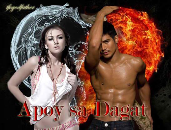 """angelica and piolo topbills """"apoy sa dagat""""."""