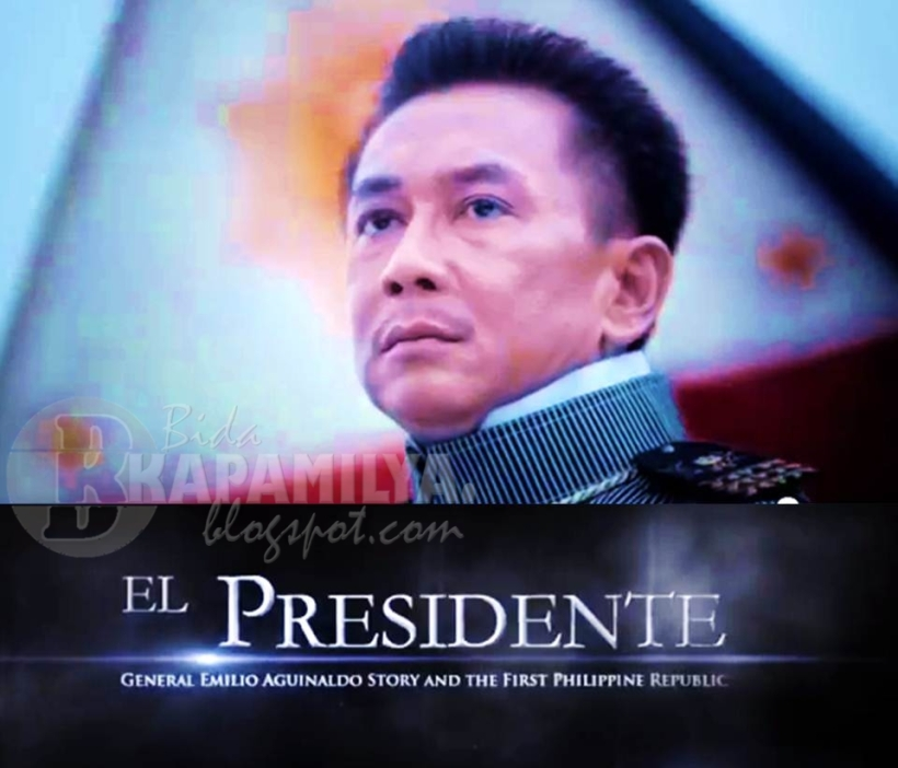 Gov. E.R. as the First President of the Philippine Republic- Gen. Emilio F. Aguinaldo!