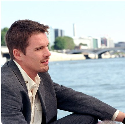"ethan hawke: he starred in ""alive"" and delivered a poweful line in the film- ""we must keepn on walking..."" that haunted this blogger's mind for over the years."