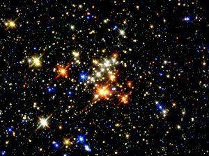 stars in the sky...