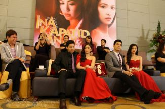 "the cast of ""ina, kapatid, anak, BOOK TWO."""
