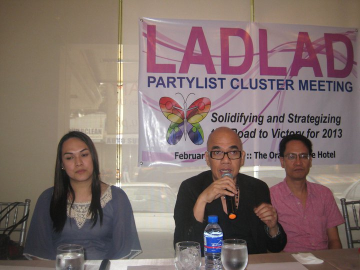 the LADLAD advocates- bemz, boy and danton.