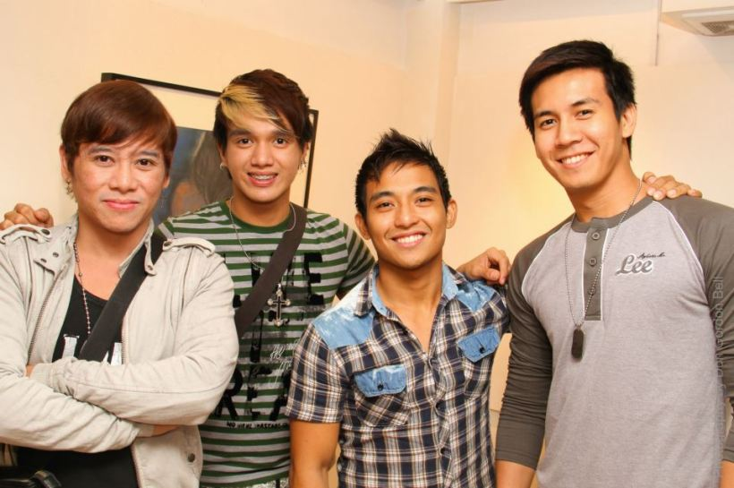 the phil. stagers foundation actors also joined the event: vince, kevin, patrick and jordan.