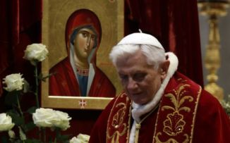 Pope Benedict XVI: will continue to guide us through.