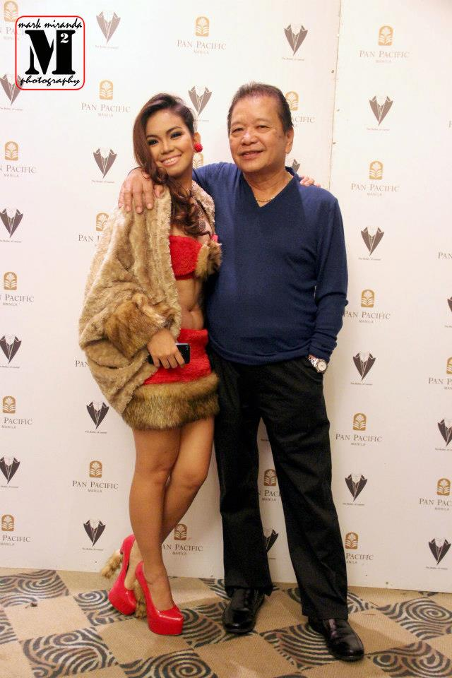 mr. antonio tanada (vince's father) and stager cherry.