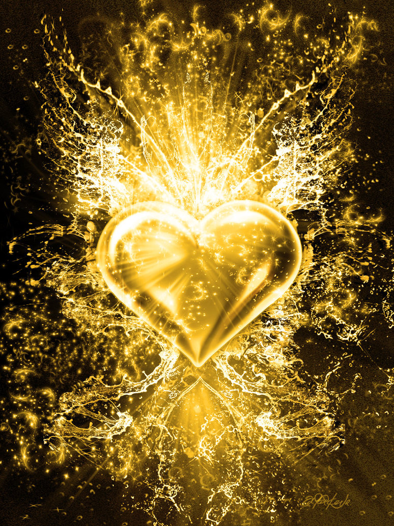 gold heart1
