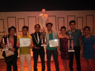 the best actors and best actresses at the psf acting workshop recital