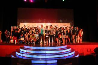 the latest batch of graduates of psf acting workshop