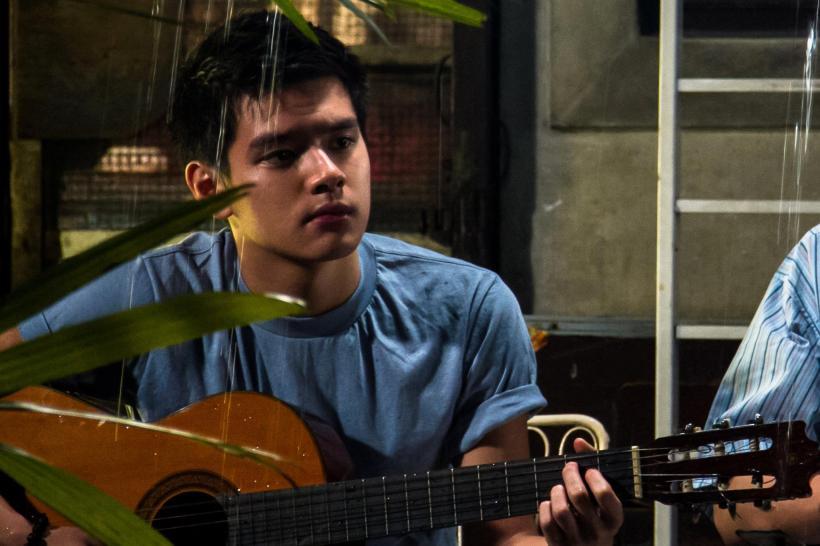 """akihiro blanco stars in """"mga alaala ng tag-ulan"""""""