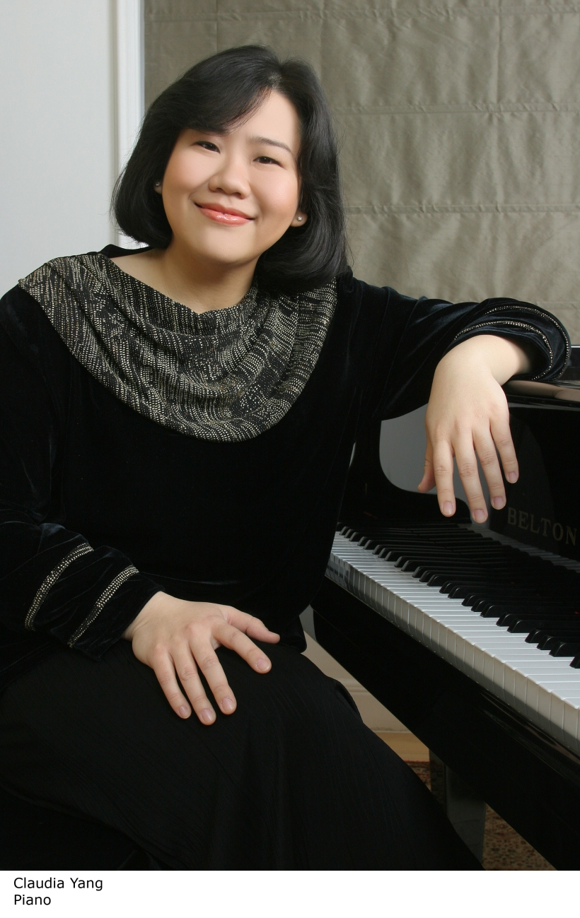 Malaysia's premiere pianist Claudia Yang to perform in Manila