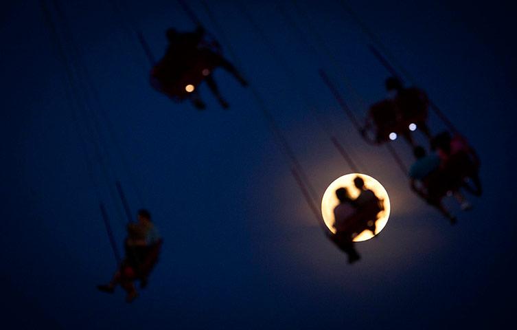 The Luna Park Swing Ride Coney Island in New York City.Reuters / Carlo Allegri
