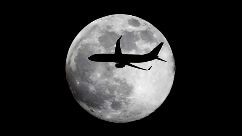 A jet plane leaving Miami International Airport. AP / Wilfredo Lee