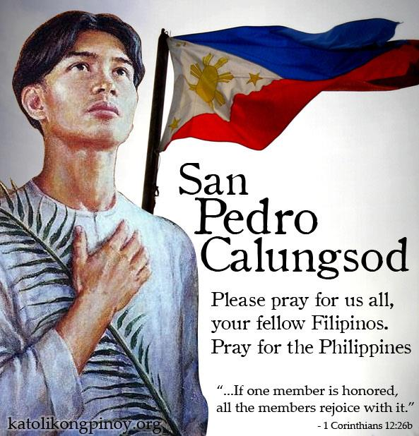 San Pedro Calungsod The Fifth In A Company Of Friends Sssips