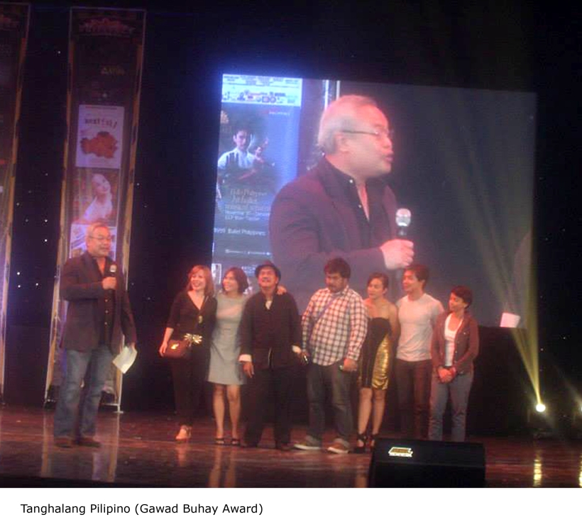 CCP'S RESIDENT COMPANIES WIN PHILSTAGE GAWAD BUHAY AWARDS