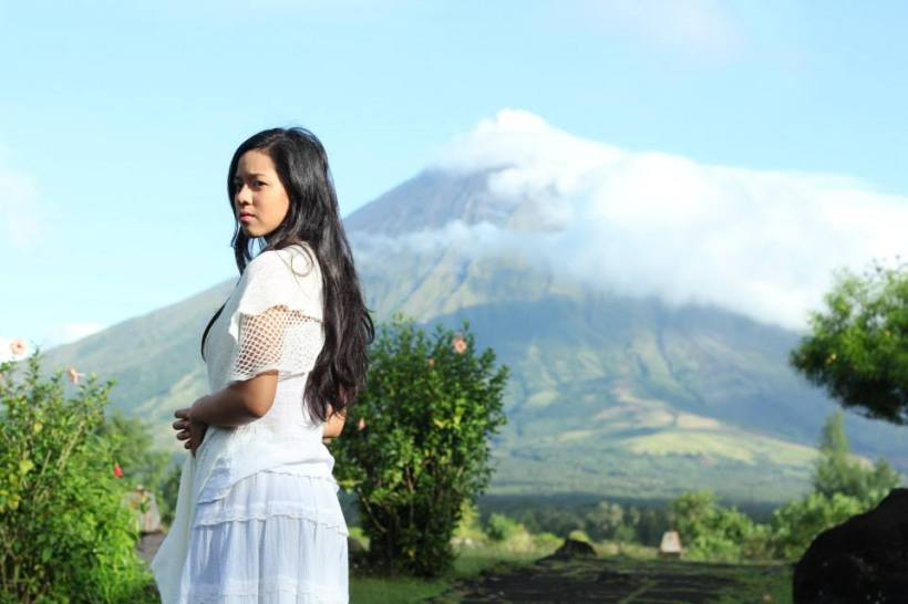 mara: she felt Paolo's gentleness... and Mt. Mayon's beauty.