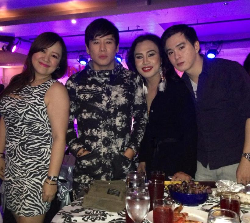 vince with elaine, chin ortega and alex dorola.