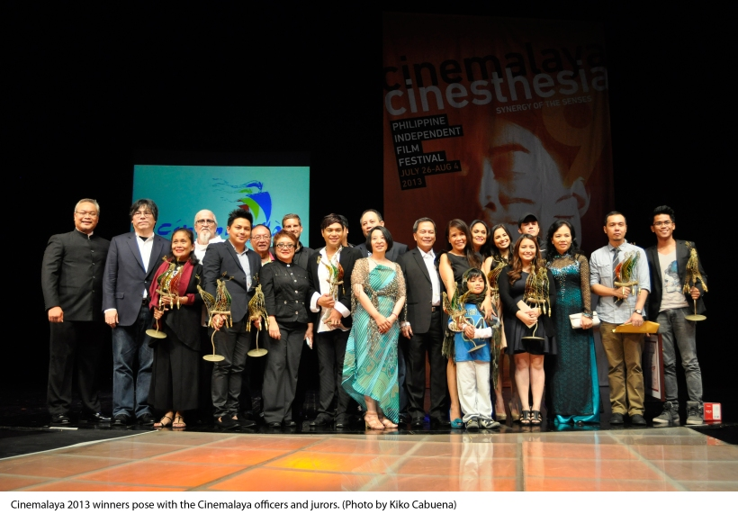 winners all at 9th cinemalaya independent film festival 2013