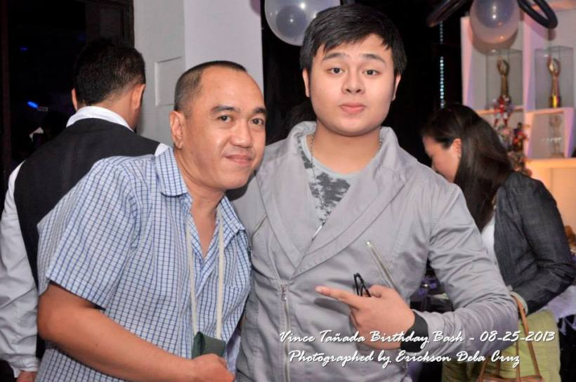this blogger with vince's handsome nephew-theater actor- JOMAR TANADA BAUTISTA