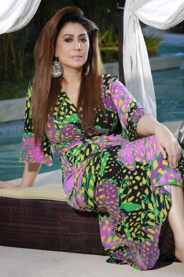 "ms vivian velez' originality as a fashionable woman also became obvious at her recently-concluded tv miniseries at channel 5- ""misibis bay""."