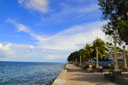 the bay in dumaguete city