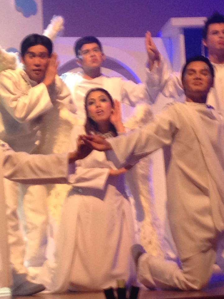 "the angels in ""san pedro calungsod: the musical"" play"