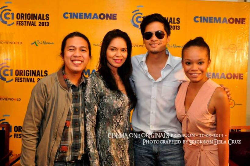 director kristian cordero, maribel, alex and michelle