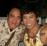 mr. vince tanada with blogger robert silverio