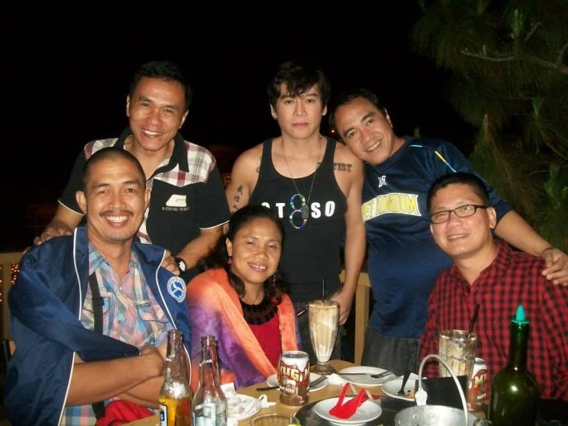 a bonding night-out with DepEd Superintendent Doc Ramir Uytico and others.