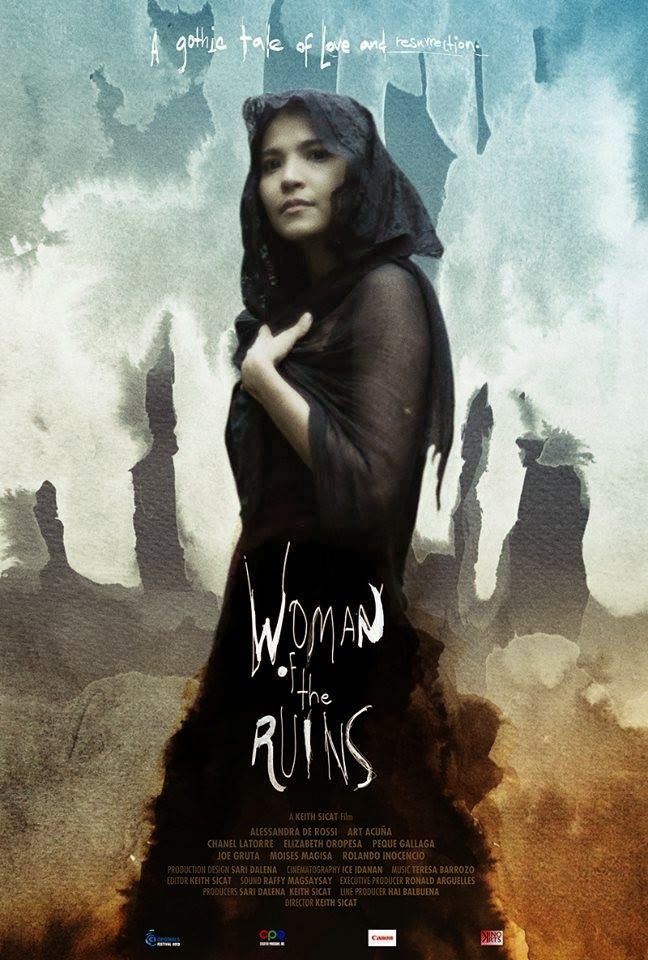 "poster of ""woman of the ruins"""