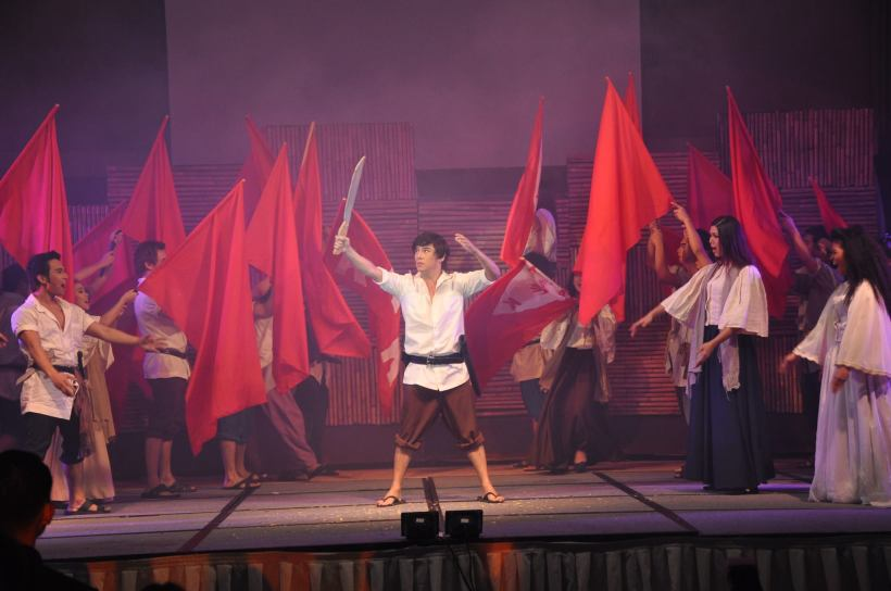 "VINCE TANADA AND THE PHILIPPINE STAGERS IN ""BONIFACIO: ISANG SARSUWELA"""