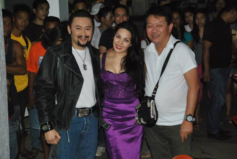 kc with her leading man gob. e.r. ejercito and direk chito rono