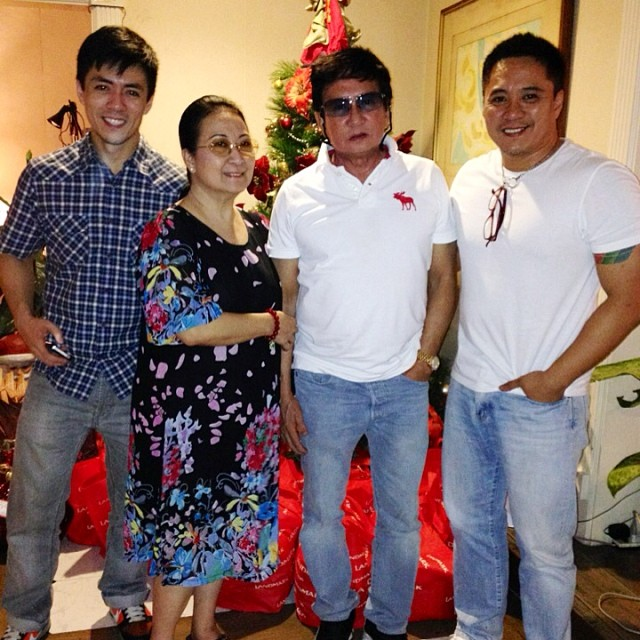 lance & family