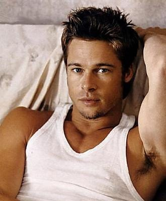 a younger brad pitt: he believes in the depths of spirituality...