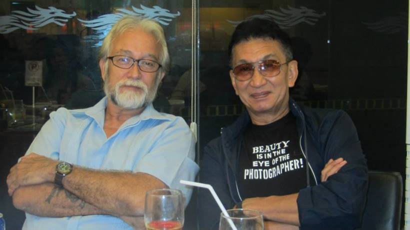 don with his best buddy- new york-based photog mr. john silao