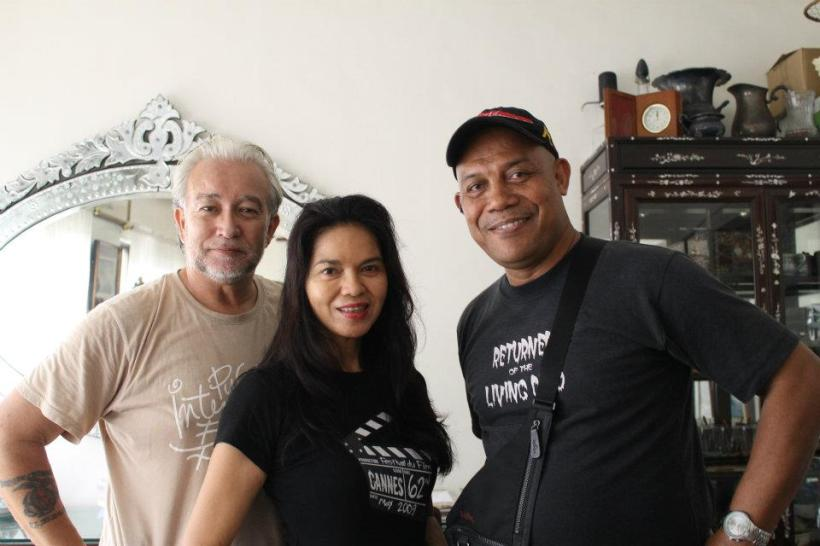 don withms. maria isabel lopez and a fellow actor