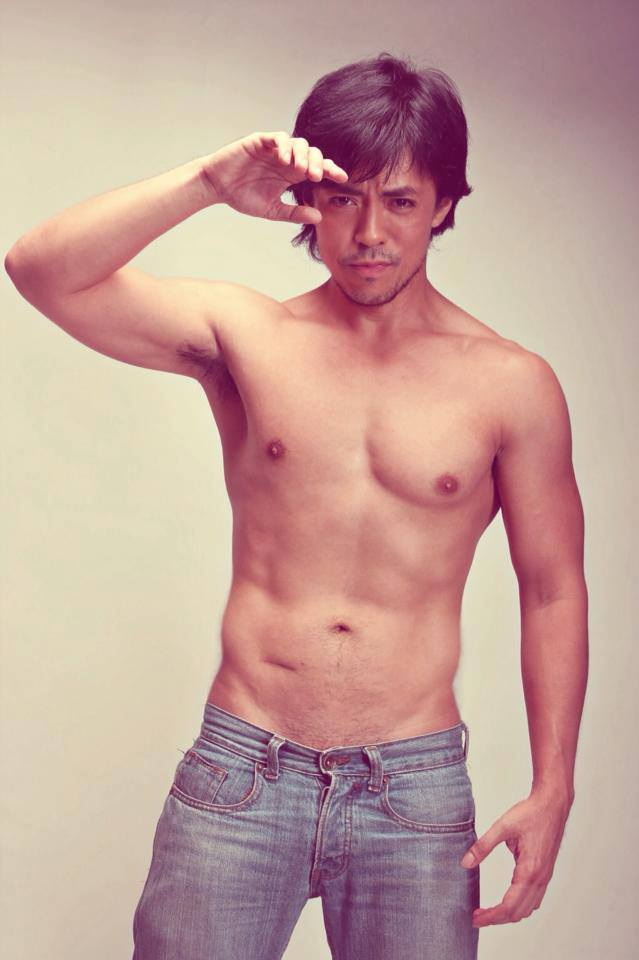 "lance in naked form... and in the LGBT film ""esotrica manila"", he shows-off MORE."