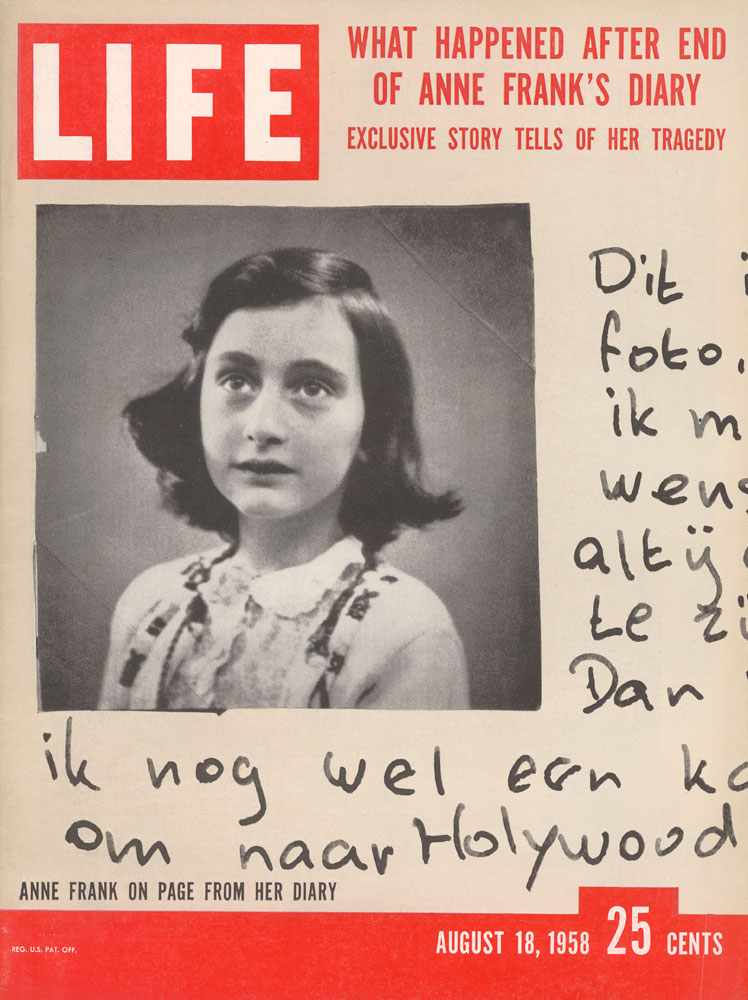 ANNE WANTED TO BECOME A HOLLYWOOD ACTRESS, TOO.