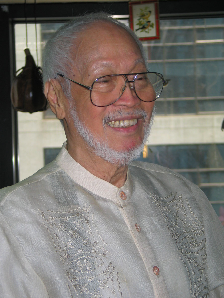 Ildefonso Santos NECRO RITES FOR LATE NATL ARTIST ILDEFONSO SANTOS JR AT CCP