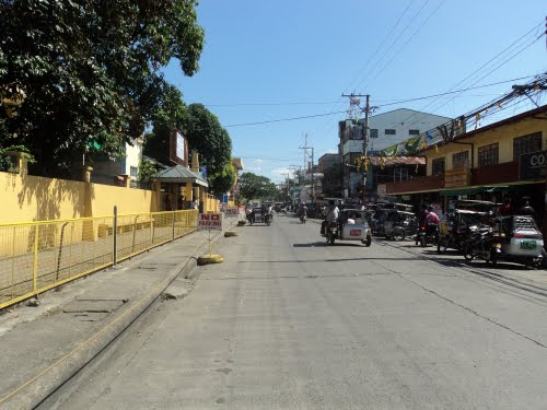 THE CITY STREETS OF GEN. TINIO, N.E.