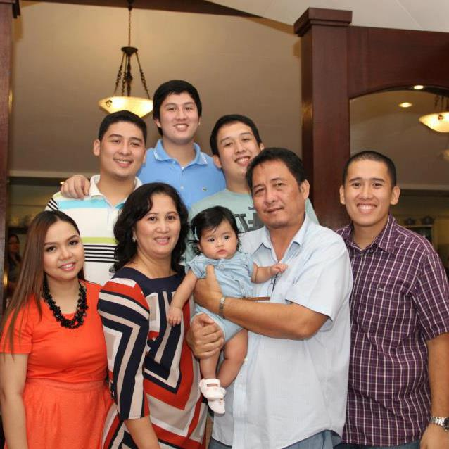 MRS. MAYVELINE P. BOTE & HUSBAND VICE MAYOR FERDINAND BOTE & FAMILY