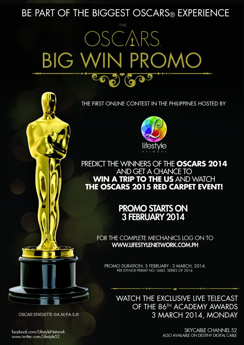 Oscars Big Win Promo E-Flyer