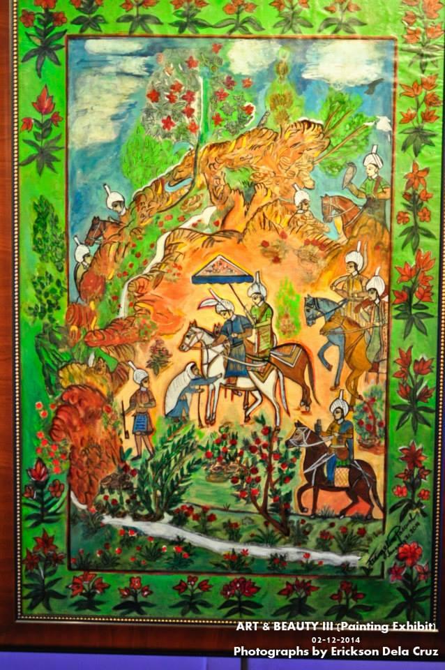 vangie's painting- LYU (Traveller)