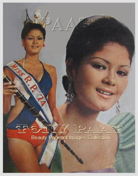a younger evangeline pascual during her reign