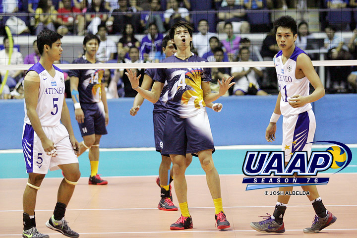 ADMU Blue Eagles vs NU Bulldogs Game 1 (photo by Josh Albelda)