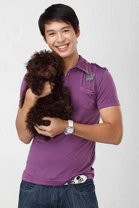 AJ AND HIS DOG
