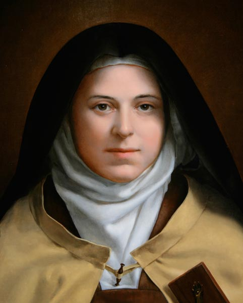FLOWERS FOR ST. THERESE (and a personal note to st. therese by robert manuguid silverio)