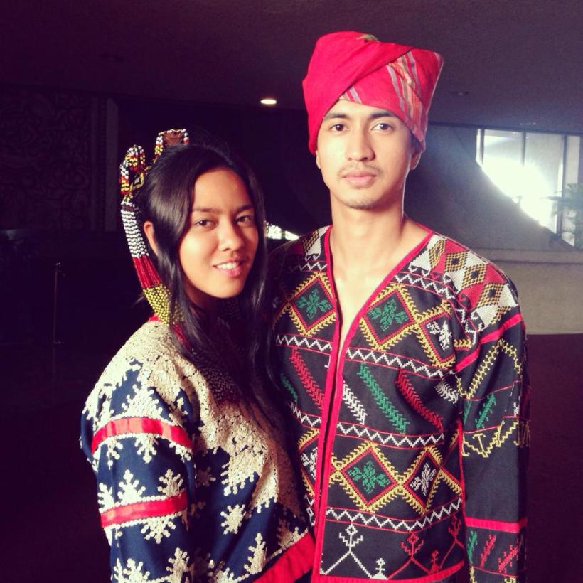 "mara as ""k'na, the dreamweaver"", with her leading man rk bagatsing"