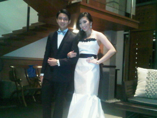 gello when she escorted his kuya's gf-steph, at a star magic ball two years ago